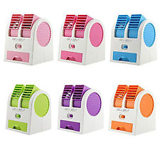Mini Portable Fan Cooling Blade less Air Conditioner Water Cooler