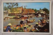 """CPM """" THAILAND - BANGKOK - Wat sai Floating Market"""