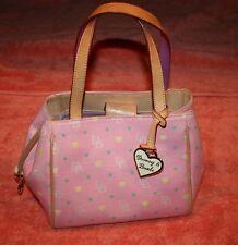 Dooney & Burke Pink Monogram Handbag Authentic K8492404
