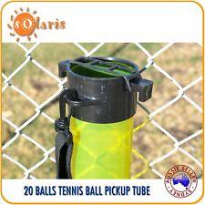20-Ball Capacity Transparent Tennis Balls Pick Up Tube Clear Color Ball Hopper