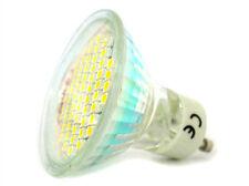 Lampada Faretto LED GU10 4W = 40W 220V Bianco Puro 60 SMD 3528