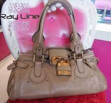 100% authentic Chloe Paddington bag popular shoulder bag  [Used]