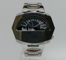 Paul Smith VINTAGE BLACK SPEEDOMETER HALF DIAL WATCH Boxed