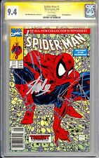 SPIDER-MAN #1 TORMENT  UPC CGC SS 9.4 STAN LEE SIGNED GREEN AND SILVER VARIANT