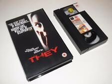VHS Video ~ They ~ Wes Craven ~ Large Case Ex-Rental ~ Entertainment in Video