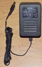 Connettore Alimentatore 12v DC 1000ma 1a spina cava 5,5/2,1 mm AC ADAPTOR OEM ad-121ab