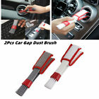 2Pcs Car Gap Dust Brush Air-Conditioner Outlet Brush Cleaning Tool Universal photo