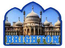 Brighton Pavilion Fridge Magnet Tourist Souvenir Gift Wood Blue Sussex Landmark