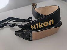 Nikon Leather Neck Strap