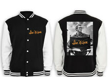 Steve McQueen Chair Premium Collegejacke Movie,Star,Kult,Bullitt,Actor,Racer