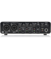 BEHRINGER UMC204HD SCHEDA AUDIO 2x4 MIDI/USB INTERFACCIA AUDIO UPHORIA