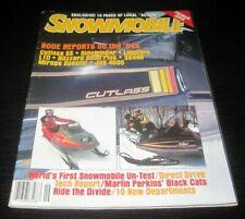 Vintage Snowmobile Magazine polaris yamaha ski doo Kawasaki arctic cat 1980