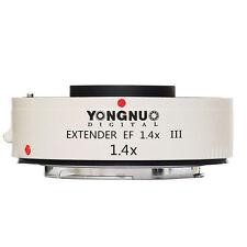 Yongnuo Extender EF 1.4x III Teleconverter For canon full autofocus 7DII 5DIV 6D