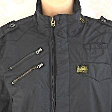 G-STAR RAW Men's Lightweight Dean Overshirt Long Sleeve Black Jacket UK SIZE M
