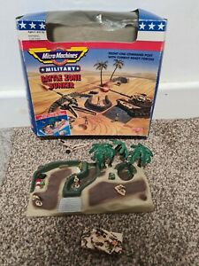 Micro Machines - Military -Battle Zone Bunker - 1992 - Boxed & Complete