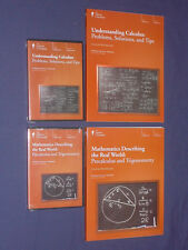 Teaching Co Great Courses DVDs        CALCULUS  PRECALCULUS  COMBO     brand new
