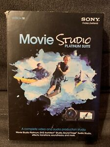 Brand new SONY Movie Studio Platinum Suite 12 in Sealed Box