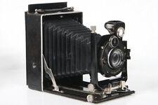 Welta Watson 9x12 Folding Plate Camera w/ Schneider Xenar 135mm Lens circa 1927
