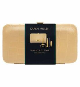 Karen Millen Manicure SetScissors,Nail File,Clippers,Tweezers,Cuticle Tool