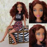 Barbie My Scene Custom Bling Nights Doll Red Hair Re-root MyScene Jointed Body
