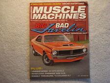 Muscle Machines 2016 June Javelin 1969 COPO Chevelle Firebird 70 Challenger R/T