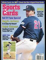 Sports Cards Magazine July 1993 Roger Clemens w/Mint Cards jhscd5