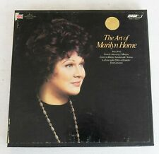 "The Art of Marilyn Horne 4T 7"" Reel Dolby Tape 7 1/2 ips TESTED"
