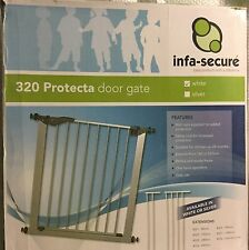 Infa Secure Protecta Door Security Gate White Safety Lock Strong Sturdy