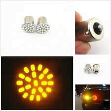 1pc Car T20 1156 BA15S 12V Amber 22-SMD LED Turn Signal Lights Tail Bulb Lights
