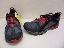 Under Armour Chetco Trail Shoes SMS Sample Men's size 9 Black/Red Sneaker