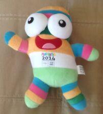 "2014 Olympic Mascot ! Nanjing YOG DNA Youth Cobblestone ""LELE"",Rare! OFFICAL!"