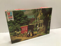 1978 MB 500pc Jigsaw Puzzle Good Old Days Weekly Delivery