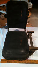 Vtg UNKNOWN spring loaded side car seat motorcycle tractor side car automobile