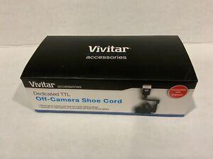 Vivitar Dedicated TTL Off-Camera Shoe Cord NOB