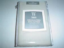 Wamsutta Wrinkle-Free 525TC Pair Standard Queen Pillowcases Beige