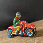 Vintage Toy Line Mar Toys Motorcycle Racer Japan Tin Litho Friction