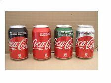 2017 neue abgeschlossen Set Coca Cola Zypern Griechenland Stevia Licht Zero Reg 4 Dosen