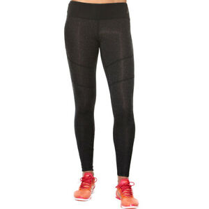 Asics Women's Running Tights Graphic Sports Tights - Black - New
