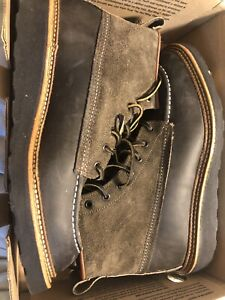 New In Box!  Red Wing 4325 Moc Toe Todd Snyder X Charcoal R&T 9D