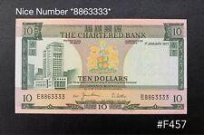 Hong Kong - 1977 $10 ( The chartered bank ) | GEF