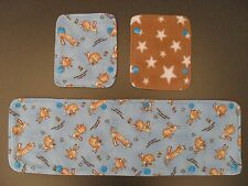 Reversible bumper cover & shoulder pads set for buggy/pushchair - guess how much