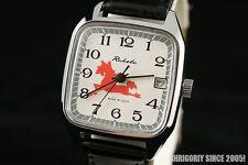 Rocket Horse vintage OLD stock Russian USSR wrist watch PAKETA 2614.H w calendar