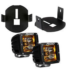 Rigid Radiance LED Fog Light Kit Amber Backlight for 06-14 Ford F150 46527 20204