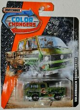 Matchbox 2019 Color Changers Volkswagen Transporter Cab green MOC VHTF DXH87