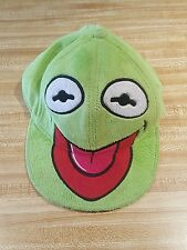Kermit The Frog Hat Muppets Green Soft Feel Cap Fitted Miss Piggy 7 - 7/14