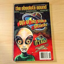 The Absolute Sound Volume 20 Issue 107, 1996 TAS Alon Genesis AR Spendor Speaker