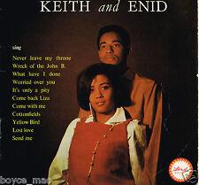 KEITH & ENID-keith & enid sing   island LP    (hear)   ska boogie
