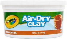 Crayola Air-Dry Clay 2.5Lb Terra-Cotta 🔥3 pack🔥3x 2.5lb tubs🔥