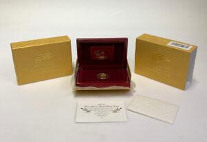 2007 W $10 Martha Washington Gold Coin First Spouse PROOF w/ Box & COA