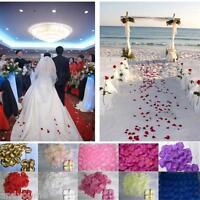 1000pcs Silk Flower Rose Petals Wedding Party Table Romantic Confetti Decoration